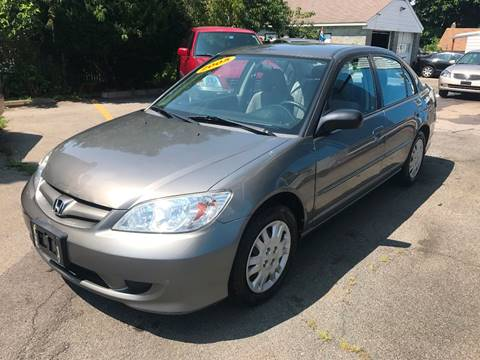 2005 Honda Civic for sale at DARS AUTO LLC in Schenectady NY