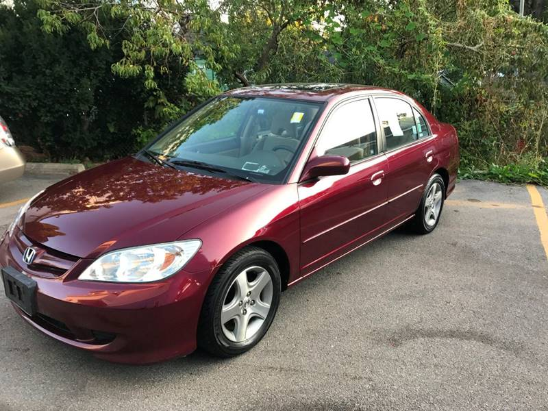 2004 Honda Civic EX 4dr Sedan   Schenectady NY