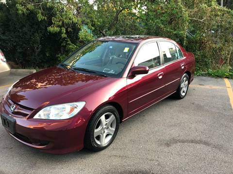 2004 Honda Civic for sale at DARS AUTO LLC in Schenectady NY