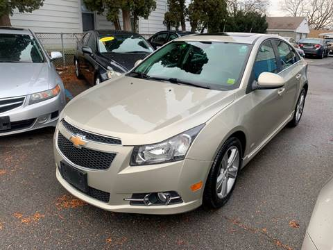 2013 Chevrolet Cruze for sale at DARS AUTO LLC in Schenectady NY
