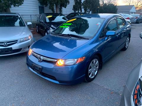 2006 Honda Civic for sale at DARS AUTO LLC in Schenectady NY