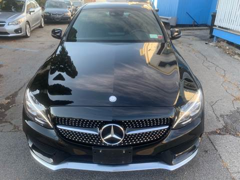 2016 Mercedes-Benz C-Class for sale at DARS AUTO LLC in Schenectady NY