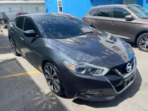 2016 Nissan Maxima for sale at DARS AUTO LLC in Schenectady NY