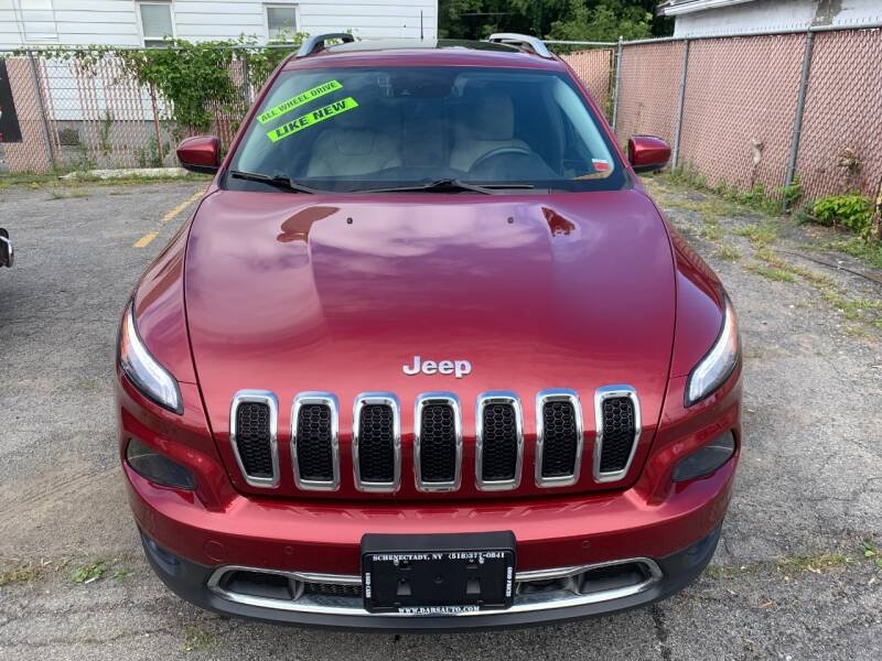 2015 Jeep Cherokee for sale at DARS AUTO LLC in Schenectady NY