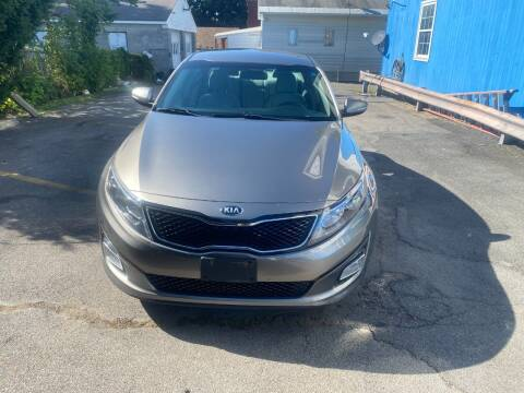 2014 Kia Optima for sale at DARS AUTO LLC in Schenectady NY