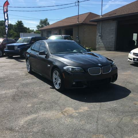 2012 BMW 5 Series for sale at DARS AUTO LLC in Schenectady NY