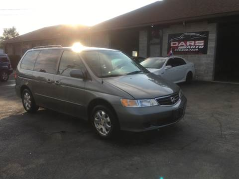 2002 Honda Odyssey for sale at DARS AUTO LLC in Schenectady NY