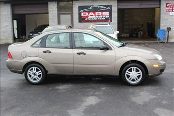 2005 Ford Focus for sale at DARS AUTO LLC in Schenectady NY