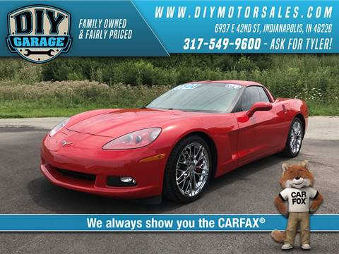 Used cars indianapolis used cars beech grove in carmel in diy garage 2009 chevrolet corvette solutioingenieria Choice Image