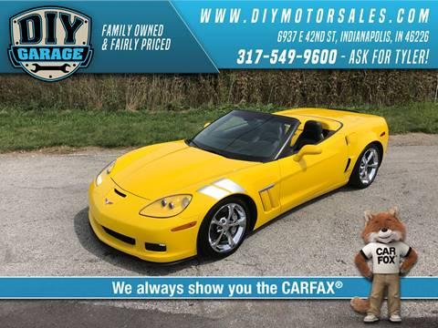 Chevrolet used cars for sale indianapolis diy garage 2011 chevrolet corvette solutioingenieria Choice Image