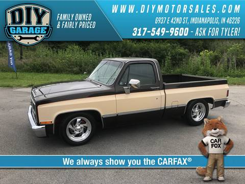 Diy garage used cars indianapolis in dealer 1984 chevrolet ck 10 series email for miles 18790 solutioingenieria Choice Image