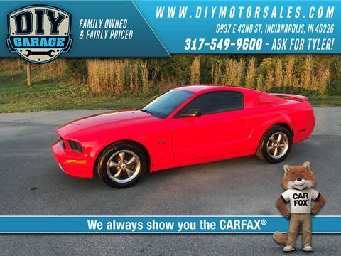 Diy garage used cars indianapolis in dealer 2005 ford mustang 71143 miles solutioingenieria Choice Image