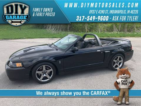 2004 Ford Mustang SVT Cobra for sale in Indianapolis, IN