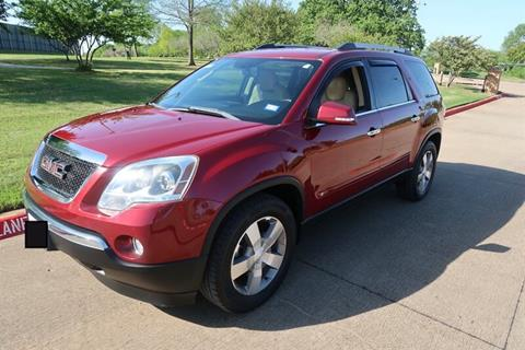 2010 GMC Acadia for sale in Euless, TX