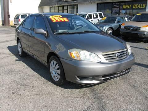 2004 Toyota Corolla for sale in Jeffersonville, IN