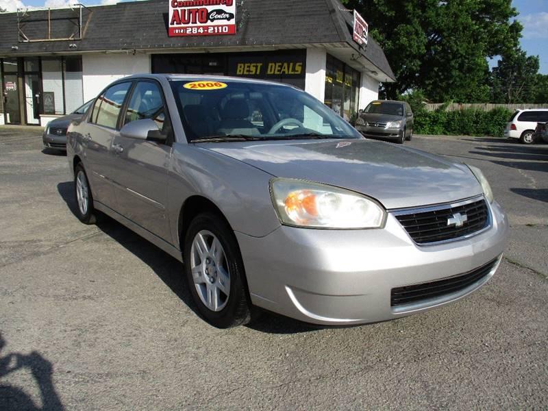 2006 Chevrolet Malibu For Sale At Community Auto Center In Jeffersonville IN