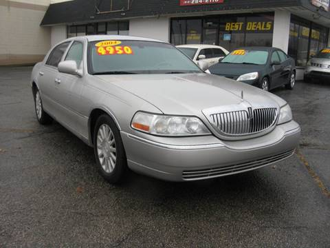 2004 Lincoln Town Car for sale in Jeffersonville, IN
