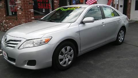 2010 Toyota Camry for sale at 5 Corner Auto Sales Inc. in Brockton MA