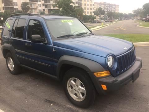 2006 Jeep Liberty for sale at 5 Corner Auto Sales Inc. in Brockton MA