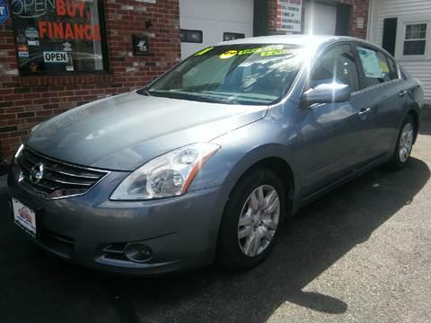 2011 Nissan Altima for sale at 5 Corner Auto Sales Inc. in Brockton MA