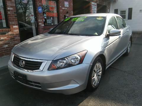 2010 Honda Accord for sale at 5 Corner Auto Sales Inc. in Brockton MA