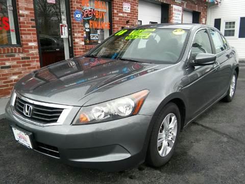 2008 Honda Accord for sale at 5 Corner Auto Sales Inc. in Brockton MA