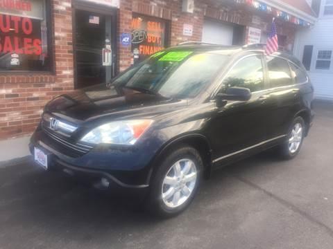 2009 Honda CR-V for sale at 5 Corner Auto Sales Inc. in Brockton MA