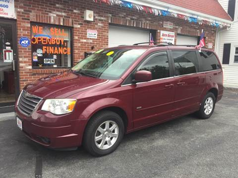 2008 Chrysler Town and Country for sale at 5 Corner Auto Sales Inc. in Brockton MA
