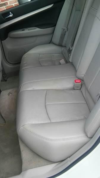 2009 Infiniti G37 Sedan AWD x 4dr Sedan - Brockton MA