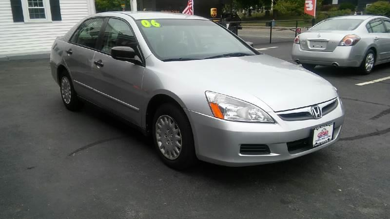 2006 Honda Accord Value Package 4dr Sedan 5A - Brockton MA
