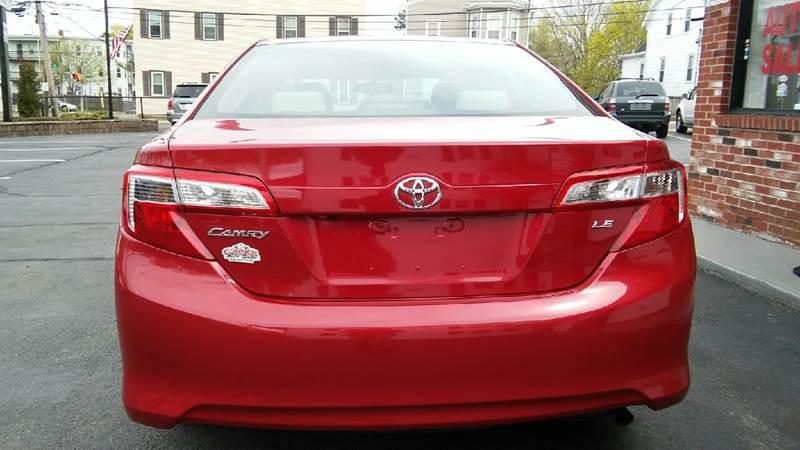 2014 Toyota Camry LE 4dr Sedan - Brockton MA