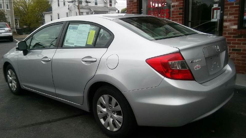 2012 Honda Civic LX 4dr Sedan 5A - Brockton MA