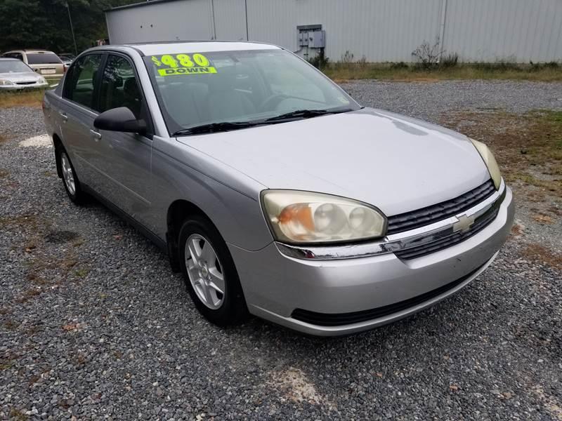 2005 Chevrolet Malibu For Sale At Minivan Of Ashland LLC In Ashland VA
