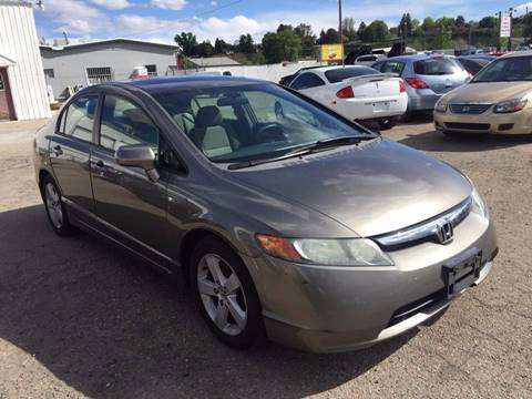 2006 Honda Civic for sale at RABI AUTO SALES LLC in Garden City ID