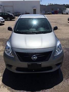 2013 Nissan Versa for sale at RABI AUTO SALES LLC in Garden City ID
