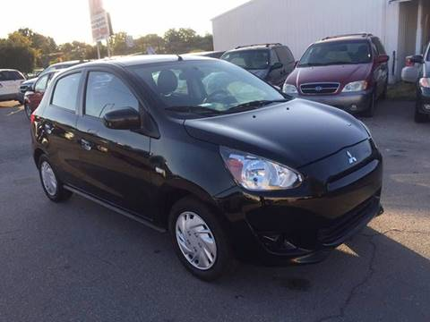 2014 Mitsubishi Mirage for sale at RABI AUTO SALES LLC in Garden City ID