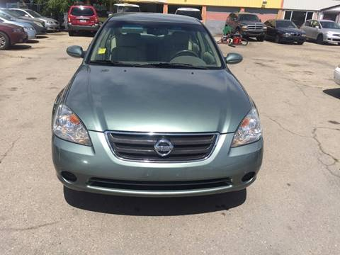 2002 Nissan Altima for sale at RABI AUTO SALES LLC in Garden City ID