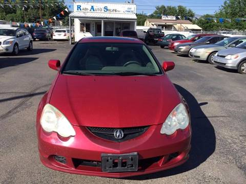 2002 Acura RSX for sale at RABI AUTO SALES LLC in Garden City ID
