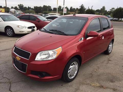 2009 Chevrolet Aveo for sale at RABI AUTO SALES LLC in Garden City ID
