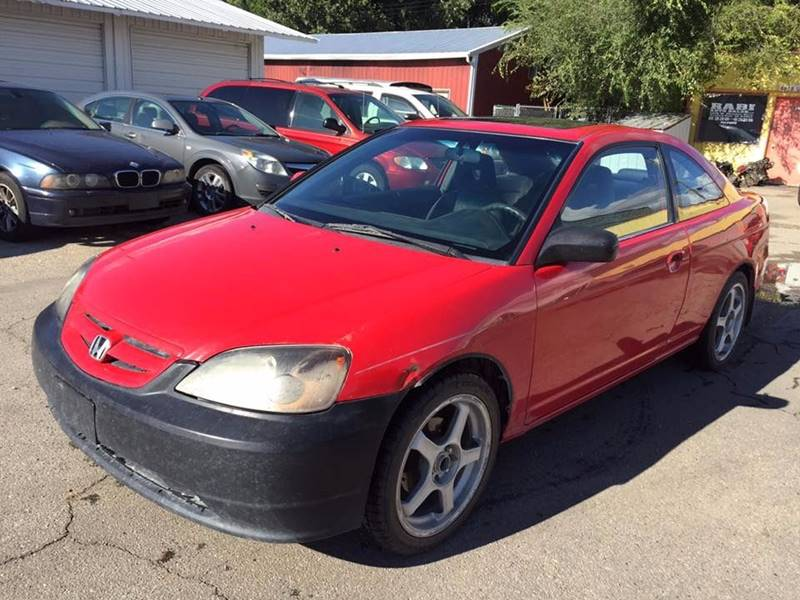 2001 Honda Civic For Sale At RABI AUTO SALES LLC In Garden City ID