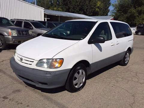 2001 Toyota Sienna for sale at RABI AUTO SALES LLC in Garden City ID