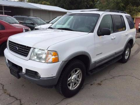 2002 Ford Explorer for sale at RABI AUTO SALES LLC in Garden City ID