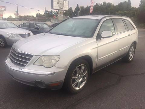 2007 Chrysler Pacifica for sale at RABI AUTO SALES LLC in Garden City ID