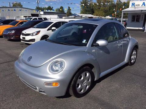 2002 Volkswagen New Beetle for sale at RABI AUTO SALES LLC in Garden City ID