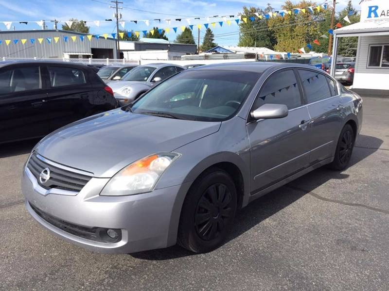 2008 Nissan Altima 25 S In Garden City Id Rabi Auto Sales Llc