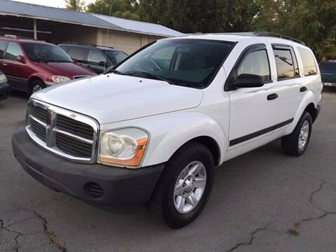 2005 Dodge Durango for sale at RABI AUTO SALES LLC in Garden City ID