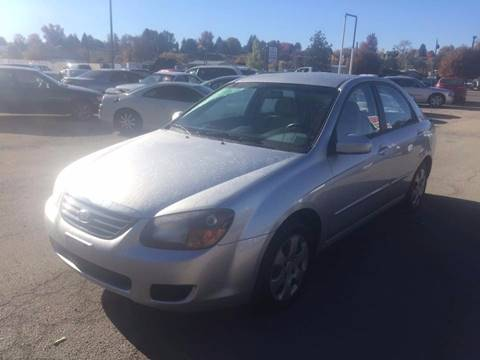 2009 Kia Spectra for sale at RABI AUTO SALES LLC in Garden City ID