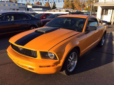 2007 Ford Mustang for sale at RABI AUTO SALES LLC in Garden City ID