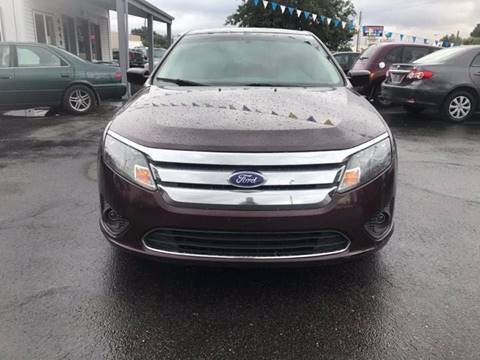 2011 Ford Fusion for sale at RABI AUTO SALES LLC in Garden City ID