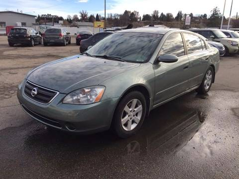2004 Nissan Altima for sale at RABI AUTO SALES LLC in Garden City ID